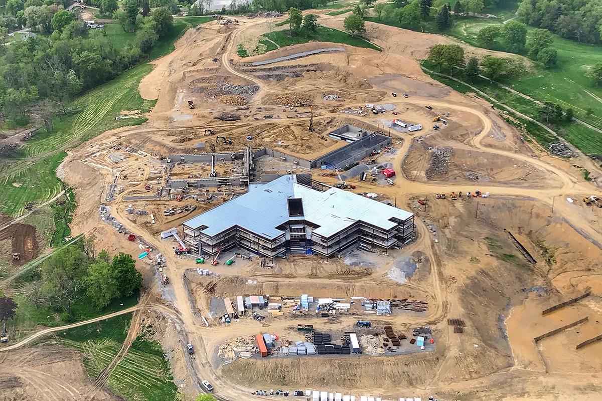 May 2019 Construction Progress – Photo by Ruben A. Campos